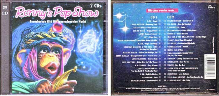 Ronnys Pop Show Musik auf Doppel CD