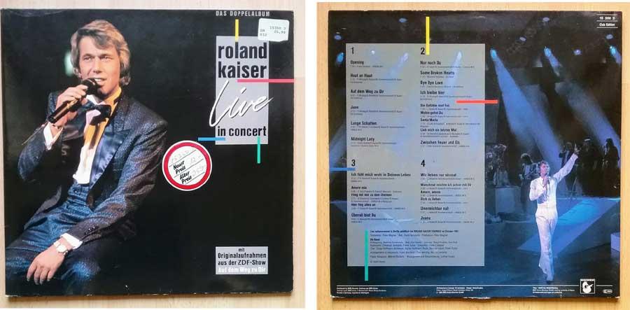 Roland Kaiser Live auf einem Doppelalbum