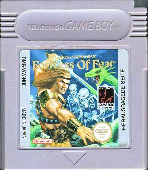 gameboy fortress of fear