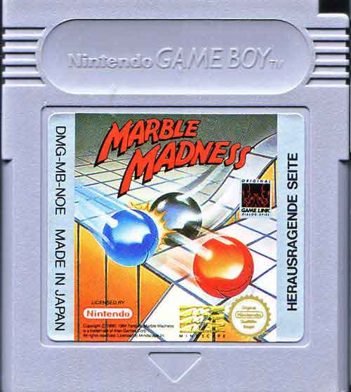 gameboy marble madness
