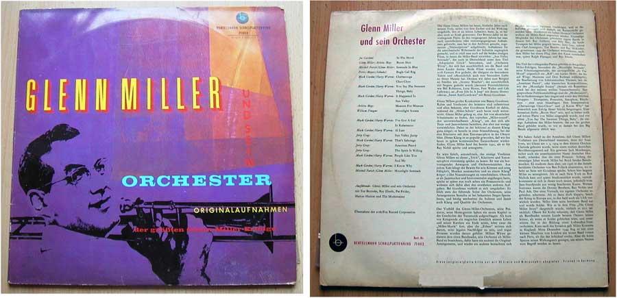 Glenn Miller und sein Orchester - Doppel-LP Vinyl von 1959