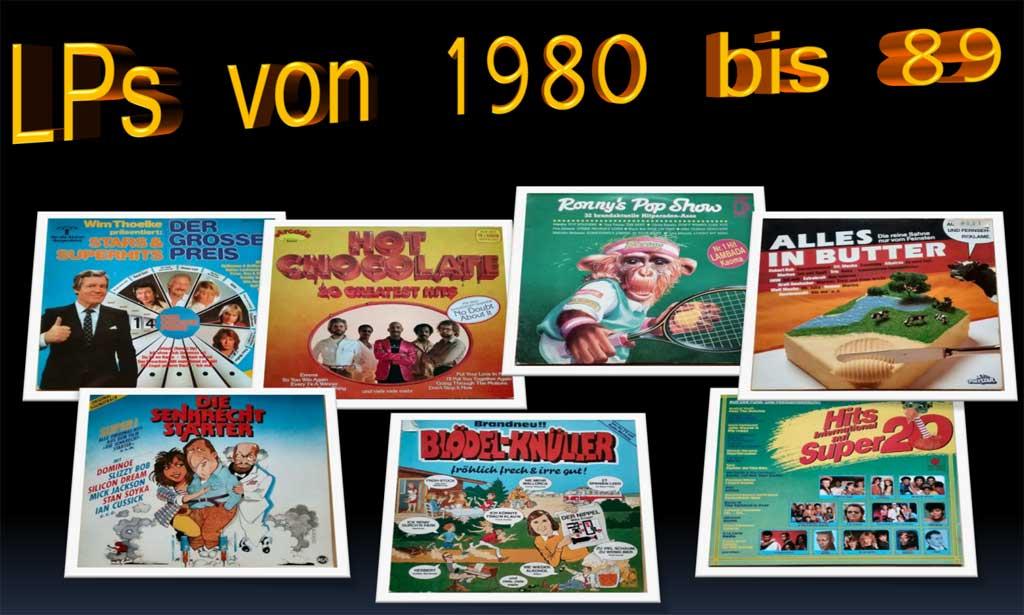 Old-School: Musik Records nur vom Feinsten
