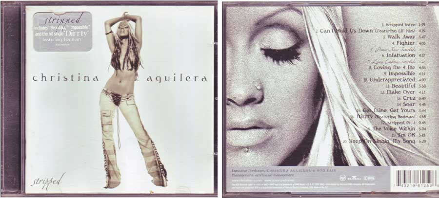 Christina Aguilera - Stripped - CD von 2002