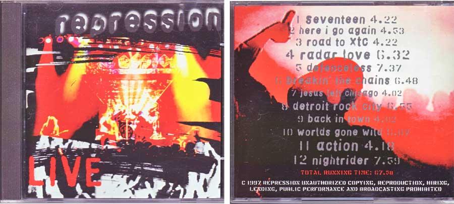 Beautiful, Repression - Live - CD von 1997