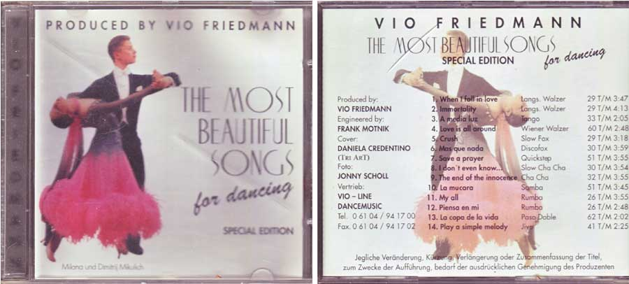 Vio Friedmann - The Most Beautiful Songs CD von 2005