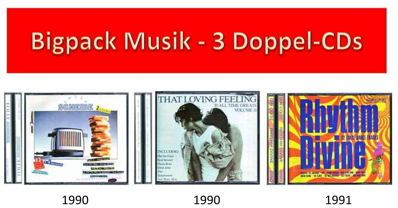 Bigpack Banner 3 Doppel-CDs zum Tauschen