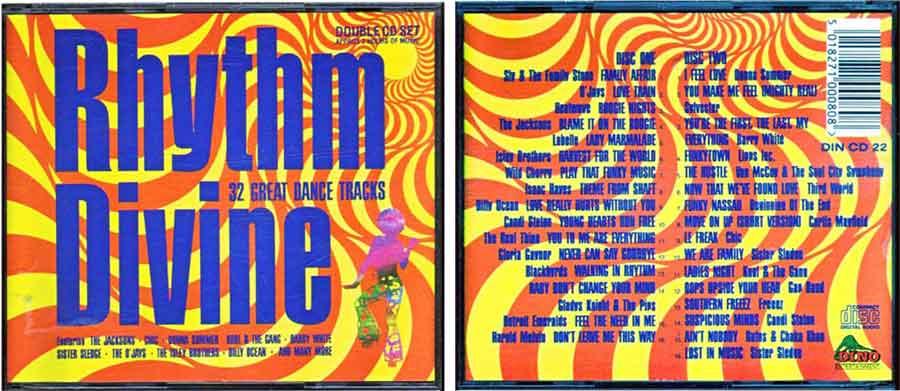 Bigpack - rhythm divine doppel cd