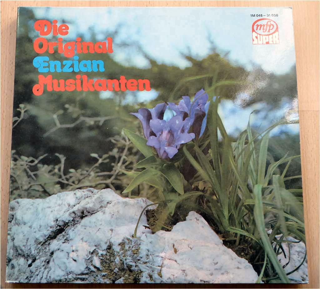 Alpenlaendische Volksmusik LP 12 Zoll