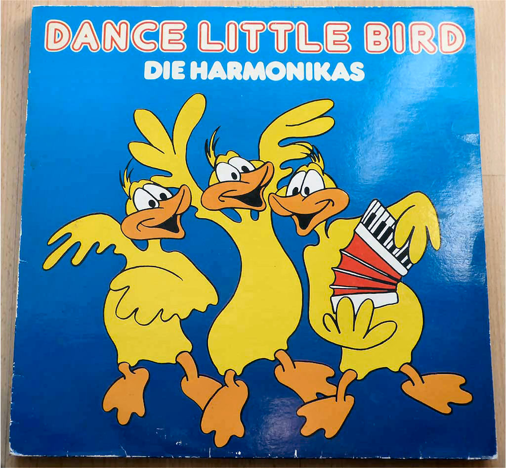 LP die Harmonikas Dance Little Bird