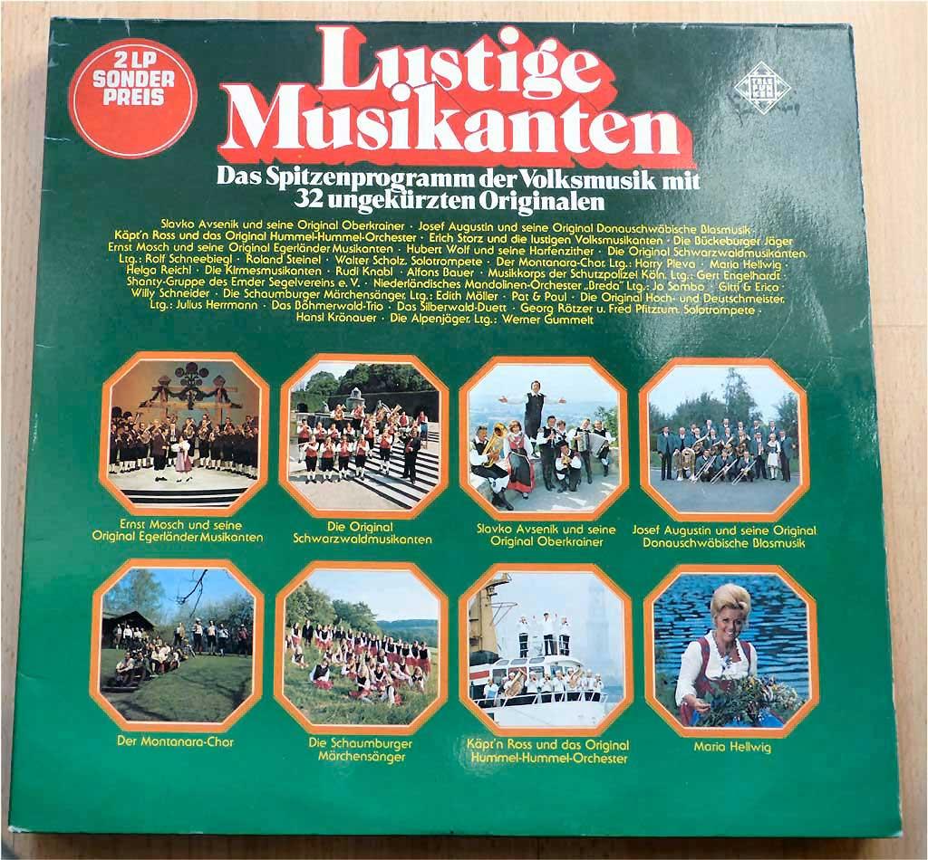 Blasmusik, Musikanten Volksmusik
