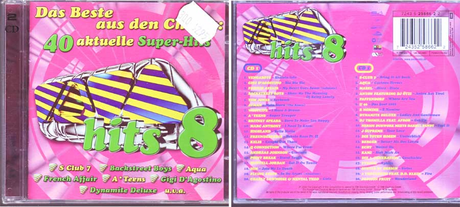 Bonusalben - viva hits 8 doppel cd