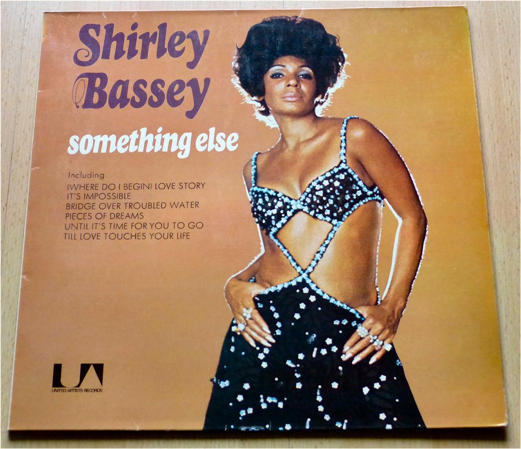 Britisch Shirley Bassey LP von 1971