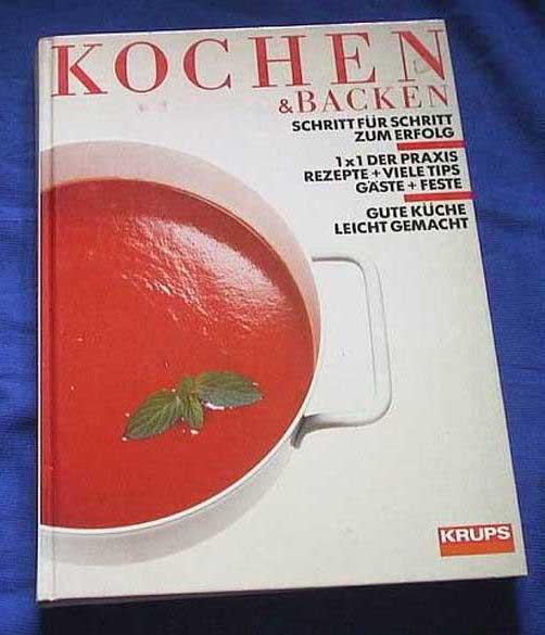 krups kochen backenkochbuch