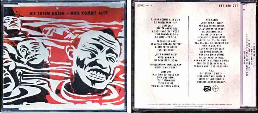 CD die-toten Hosen - Hier kommt Alex
