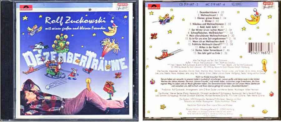 CD Rolf Zuckowski - Deutsche Schlager