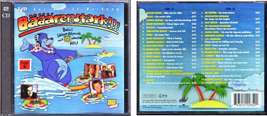 Musikcharts CD Schlager Hitparade