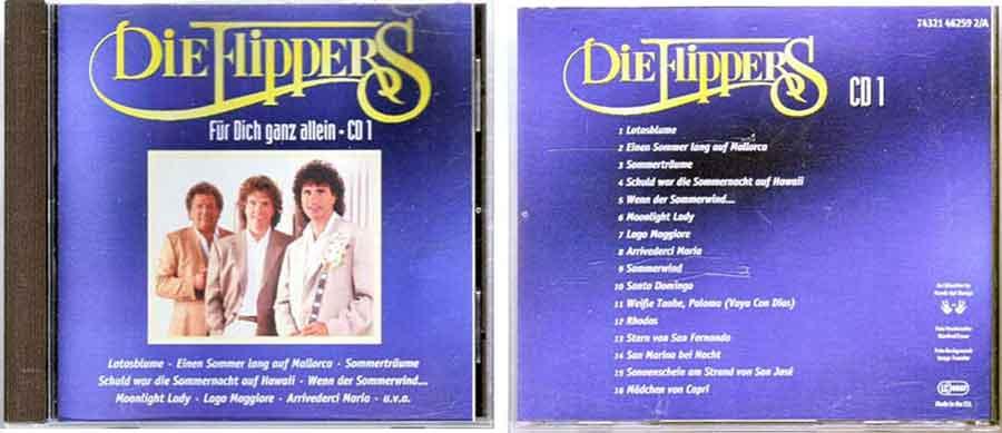 CD1 Die Flippers - Deutsche Schlager