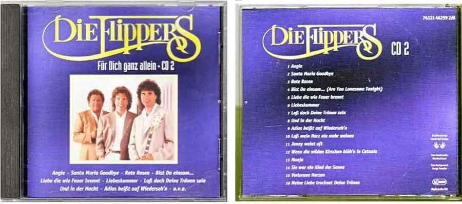 CD2 Die Flippers - Deutsche Schlager