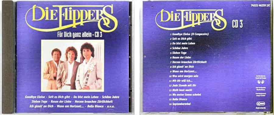 CD3 Die Flippers - Deutsche Schlager