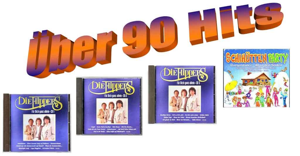 Discohits Deutsche Schlager auf CDs -Banner