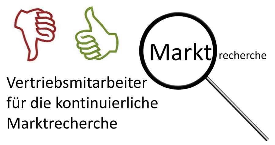 Marktrecherche - Banner für die Online-Bewerbung