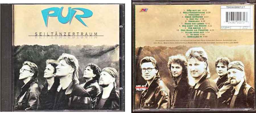 CD von Pur Seiltänzertraum, Deutscher Schlager