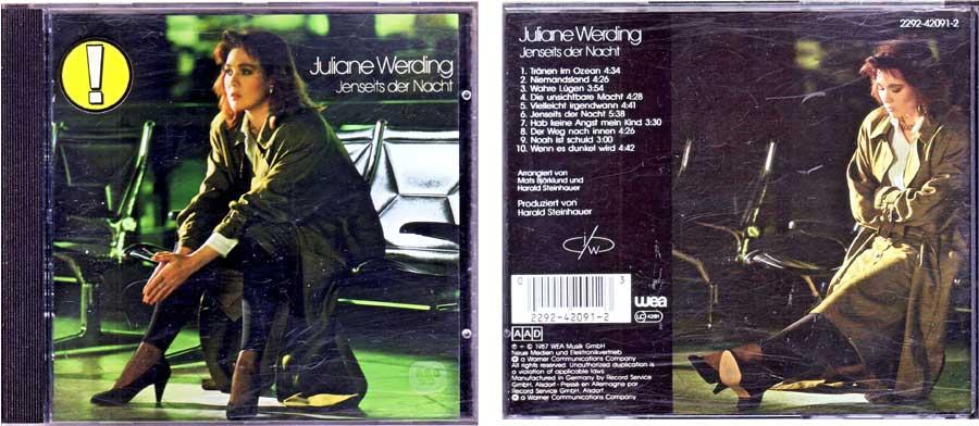 Juliane Werding - Jenseits Der Nacht auf CD