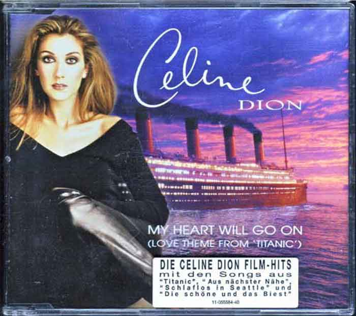 Celine Dion – My Heart Will Go On - Musik auf CD, Maxi-Single