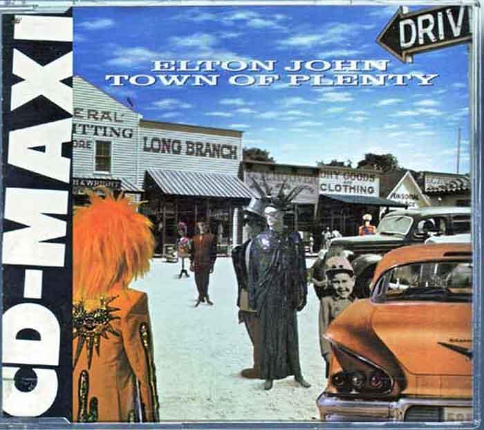 Elton John – Town Of Plenty - Musik auf CD, Maxi-Single