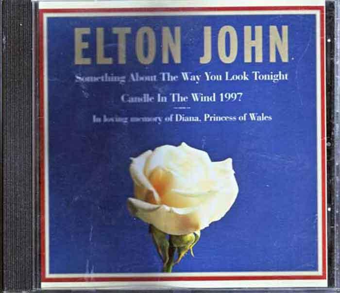 Elton John – Candle In The Wind 1997 - Musik auf CD, Maxi-Single