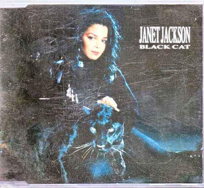 Janet Jackson – Black Cat - Musik auf CD, Maxi-Single