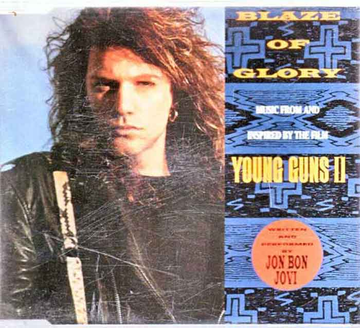 Jon Bon Jovi - Blaze Of Glory - Musik auf CD, Maxi-Single