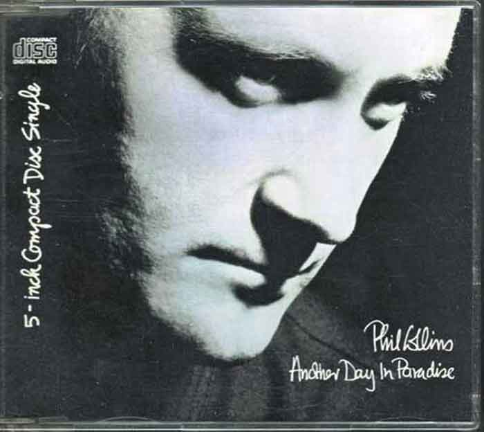 Phil Collins – Another Day In Paradise - Musik auf CD, Maxi-Single