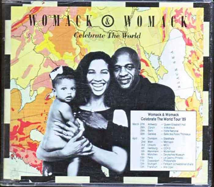 Womack & Womack – Celebrate The World - Musik auf CD, Maxi-Single
