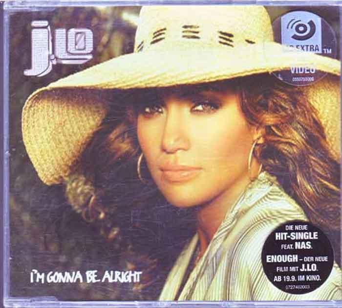 Jennifer Lopez J.Lo - I'M Gonna Be Alright - Musik auf CD, Maxi-Single