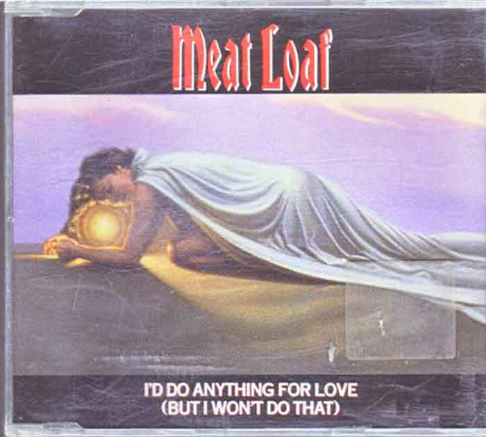 Meat Loaf ‎– I'd Do Anything For Love - Musik auf CD, Maxi-Single