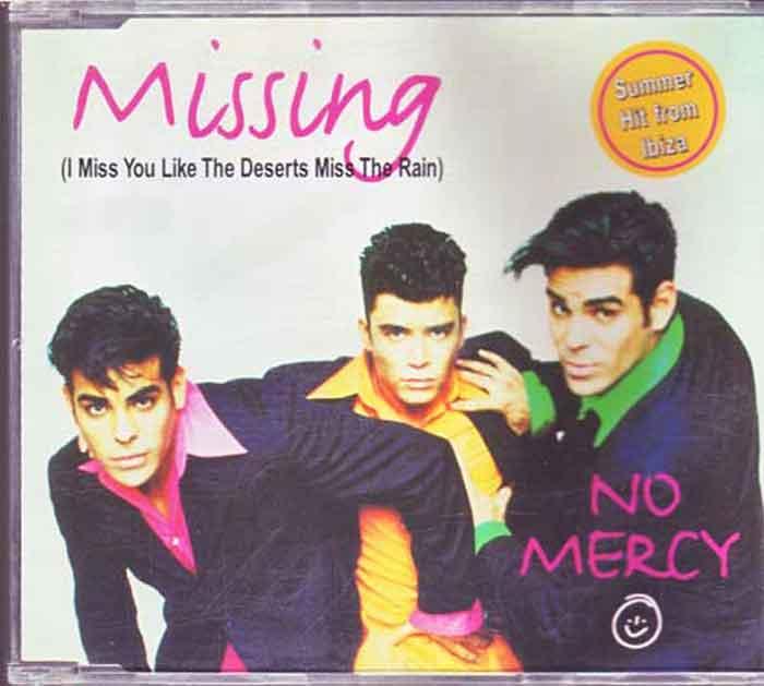 No Mercy – Missing - Musik auf CD, Maxi-Single