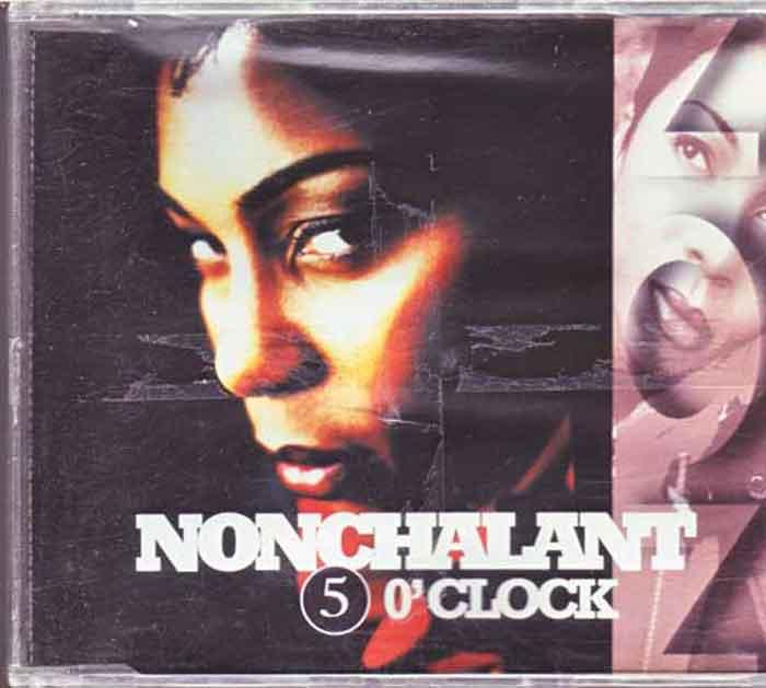 Nonchalant – 5 O'Clock - Musik auf CD, Maxi-Single