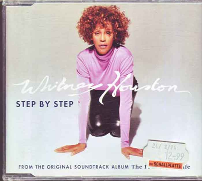 Whitney Houston ‎– Step By Step - Musik auf CD, Maxi-Single