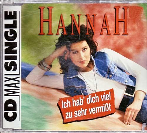 Hannah – Ich hab' dich viel zu sehr vermisst. – EAN: 4003099863927