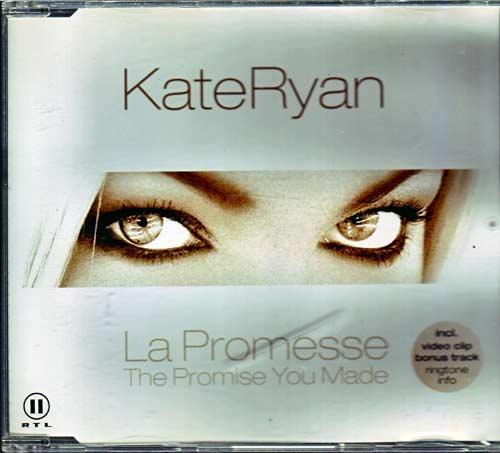 Kate Ryan – La Promesse. – EAN: 4029758559086