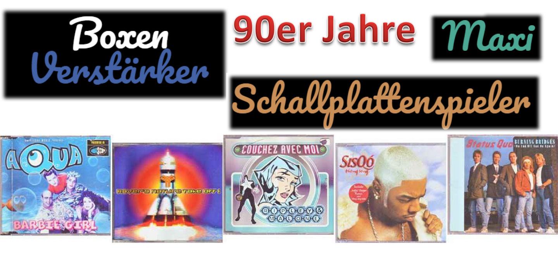 Musiksammler tauscht Maxi CD-Sammlung