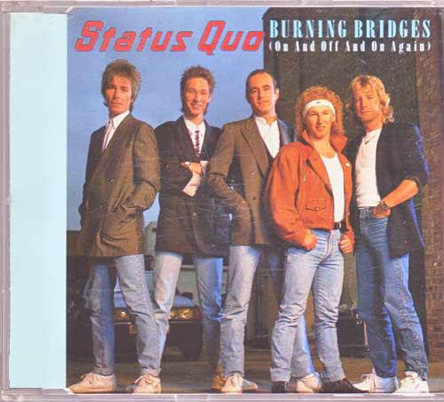 Status Quo - Burning Bridges - Mike Tyson Sleeve