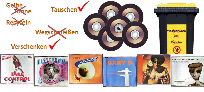 Restposten von Single CDs - Tausche