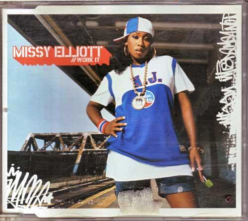 Missy Elliott - Work It, Restposten Single CDs