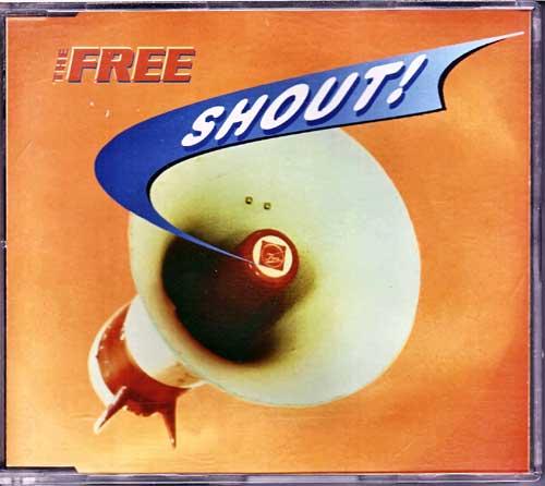 The Free - Shout! - Restposten Single CDs