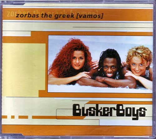 Maxi-CD - Busker Boys - Zorbas the Greek