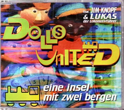 Maxi-CD - Dolls United - Eine Insel mit Zwei Bergen
