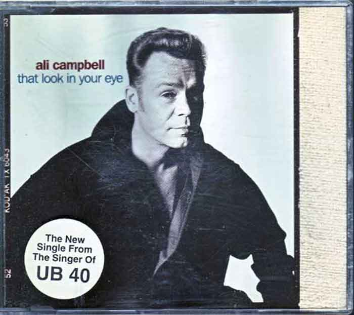 Ali Campbell ‎– That Look In Your Eye - Musik auf CD, Maxi-Single