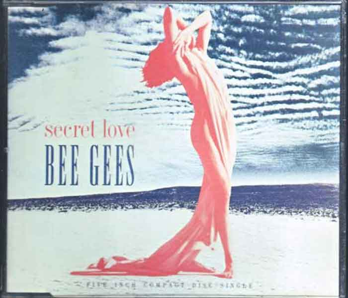 Bee Gees ‎– Secret Love - Musik auf CD, Maxi-Single